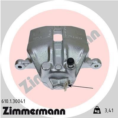 Bremssattel Vorderachse links ZIMMERMANN 610.1.30041