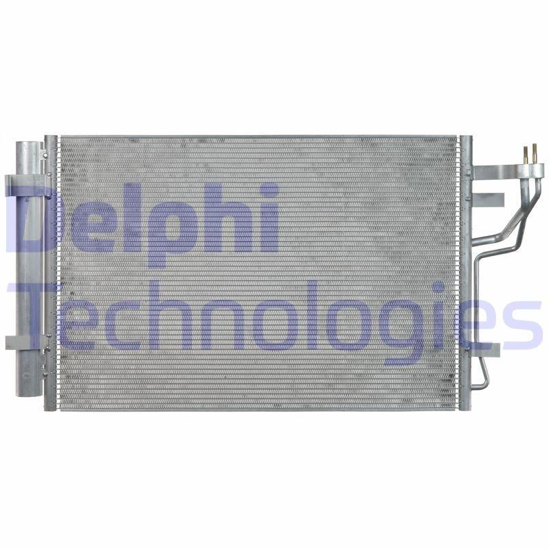 Kondensator, Klimaanlage DELPHI CF20238 Bild 1