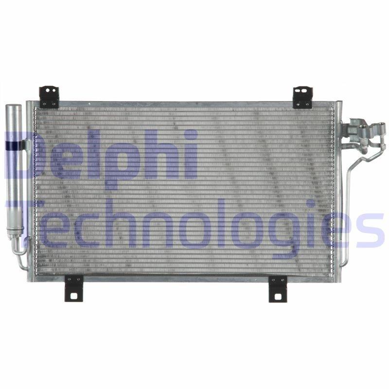 Kondensator, Klimaanlage DELPHI CF20283 Bild 1