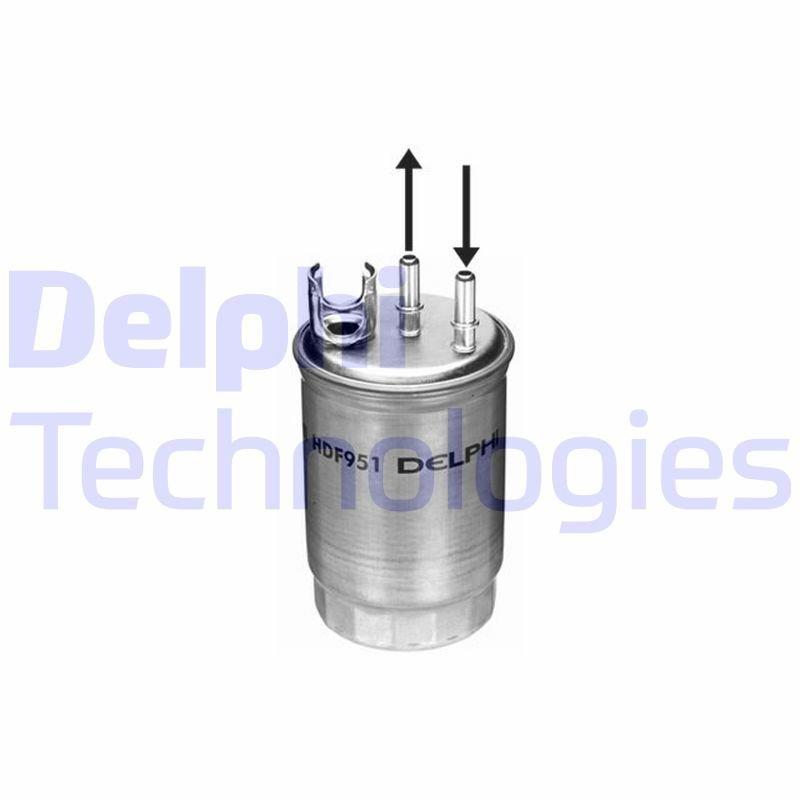 Kraftstofffilter DELPHI HDF951