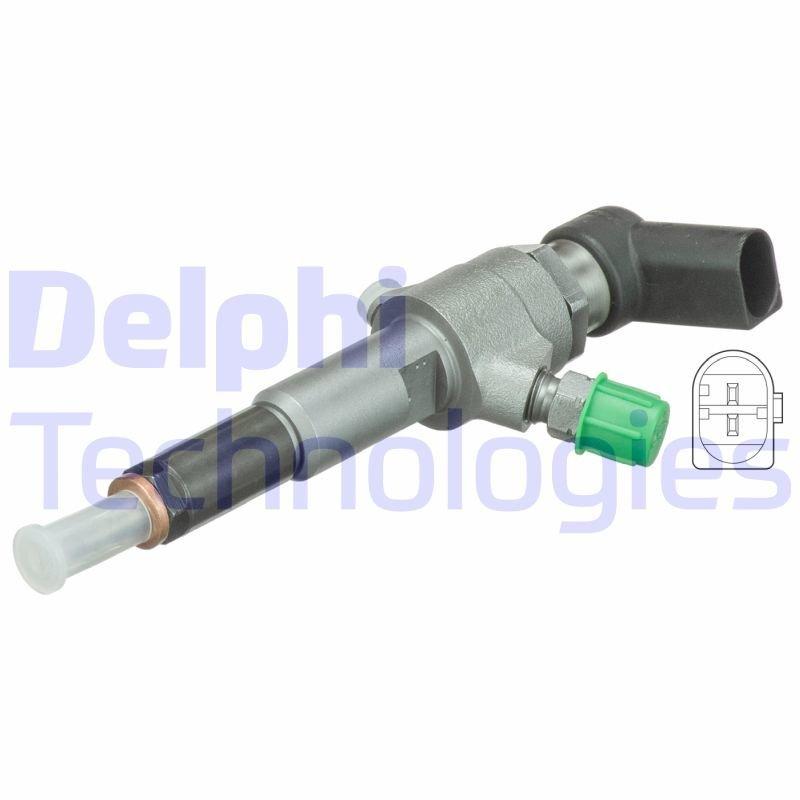 Einspritzventil DELPHI HRD658