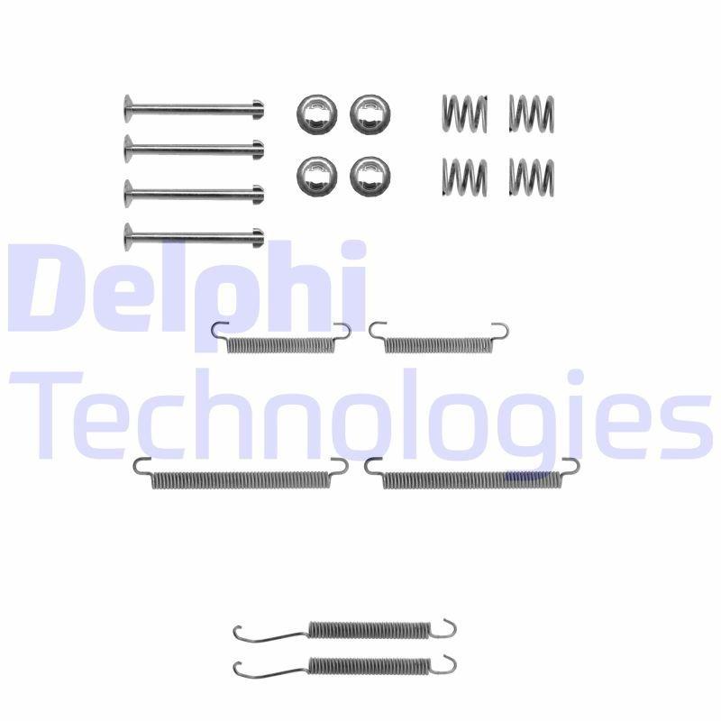 Zubehörsatz, Feststellbremsbacken DELPHI LY1195 Bild 1