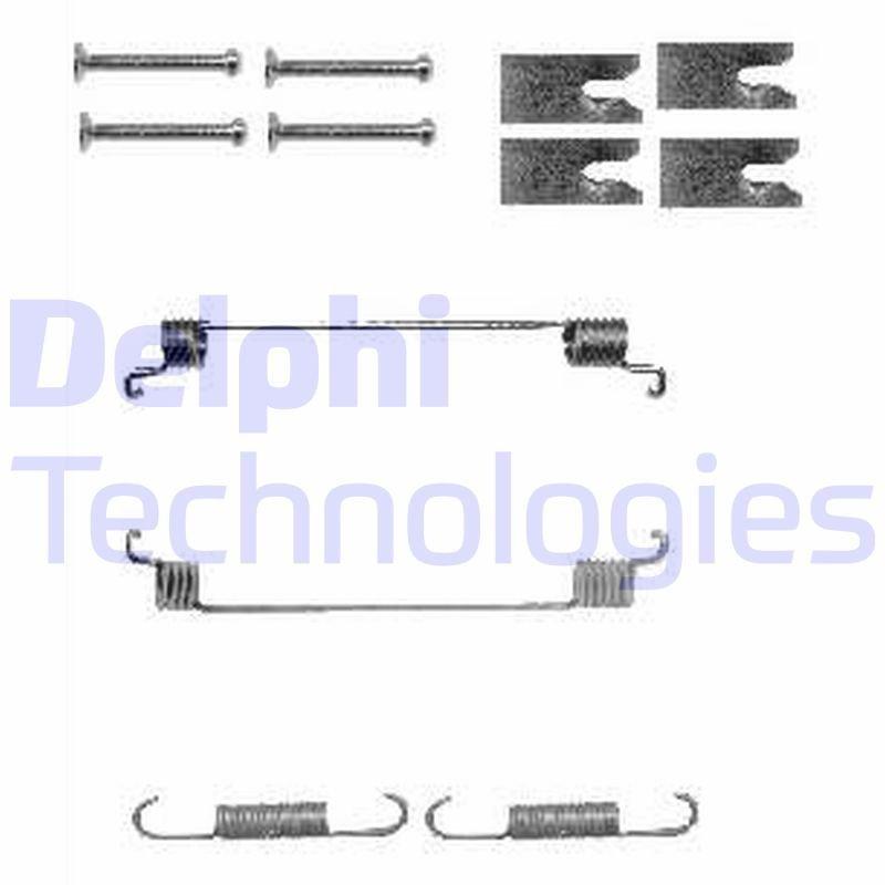 Zubehörsatz, Bremsbacken DELPHI LY1342