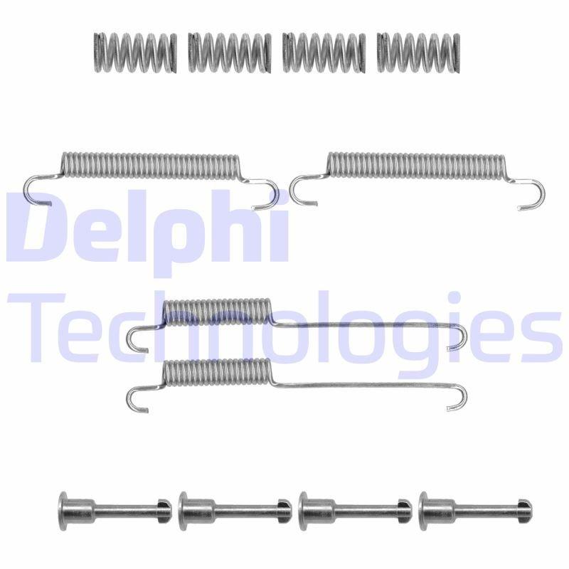 Zubehörsatz, Feststellbremsbacken DELPHI LY1363