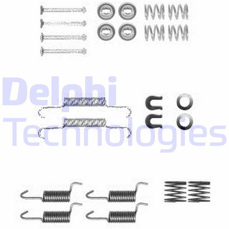 Zubehörsatz, Feststellbremsbacken DELPHI LY1367