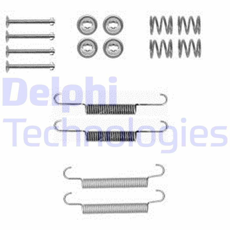 Zubehörsatz, Feststellbremsbacken DELPHI LY1377