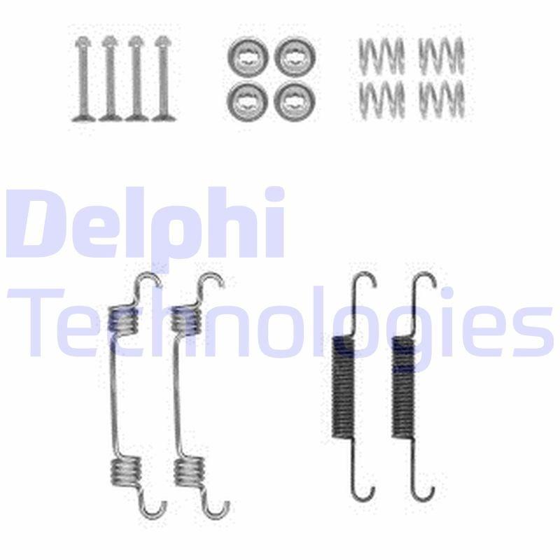Zubehörsatz, Feststellbremsbacken DELPHI LY1381