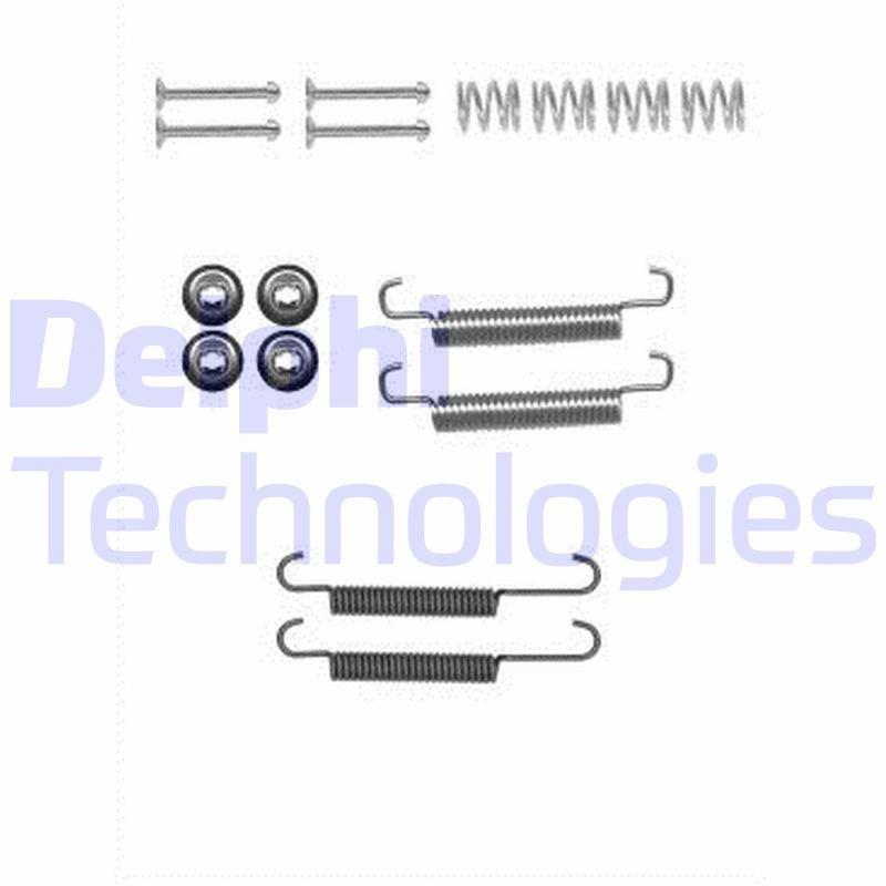 Zubehörsatz, Feststellbremsbacken DELPHI LY1384