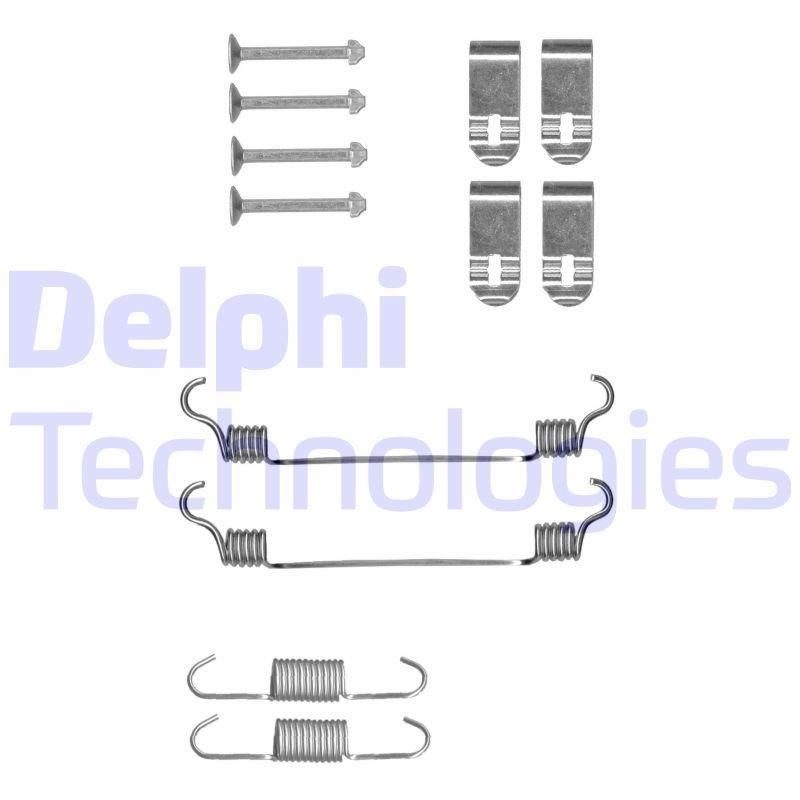 Zubehörsatz, Feststellbremsbacken DELPHI LY1400