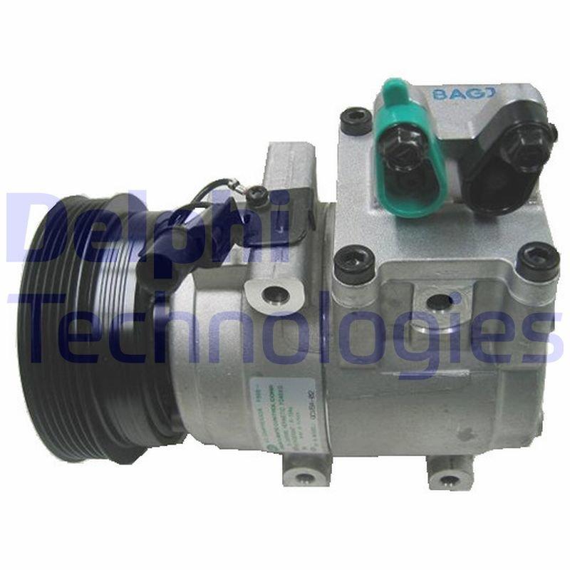 Kompressor, Klimaanlage DELPHI TSP0155496