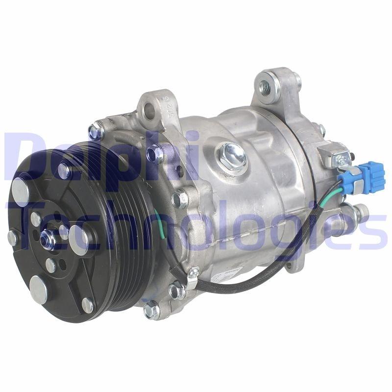 Kompressor, Klimaanlage DELPHI TSP0159243