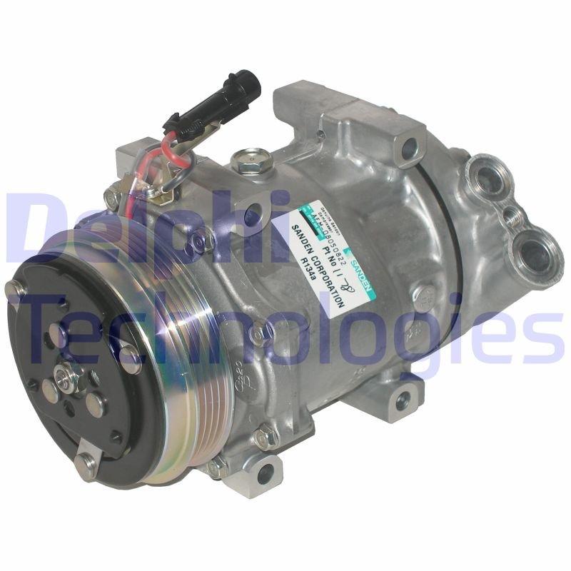 Kompressor, Klimaanlage DELPHI TSP0159808