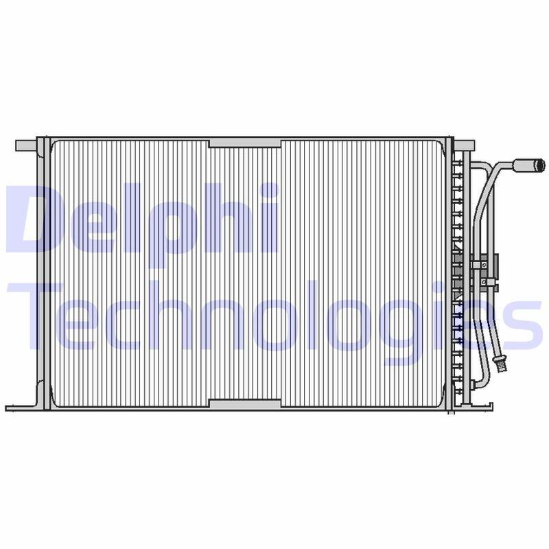 Kondensator, Klimaanlage DELPHI TSP0225026 Bild 1