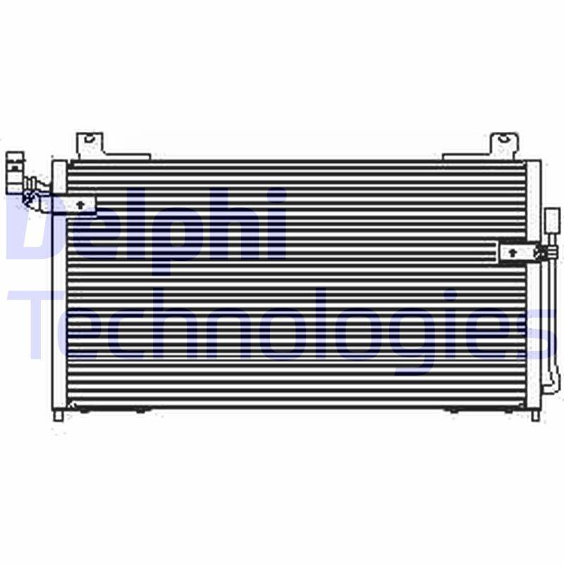 Kondensator, Klimaanlage DELPHI TSP0225427 Bild 1