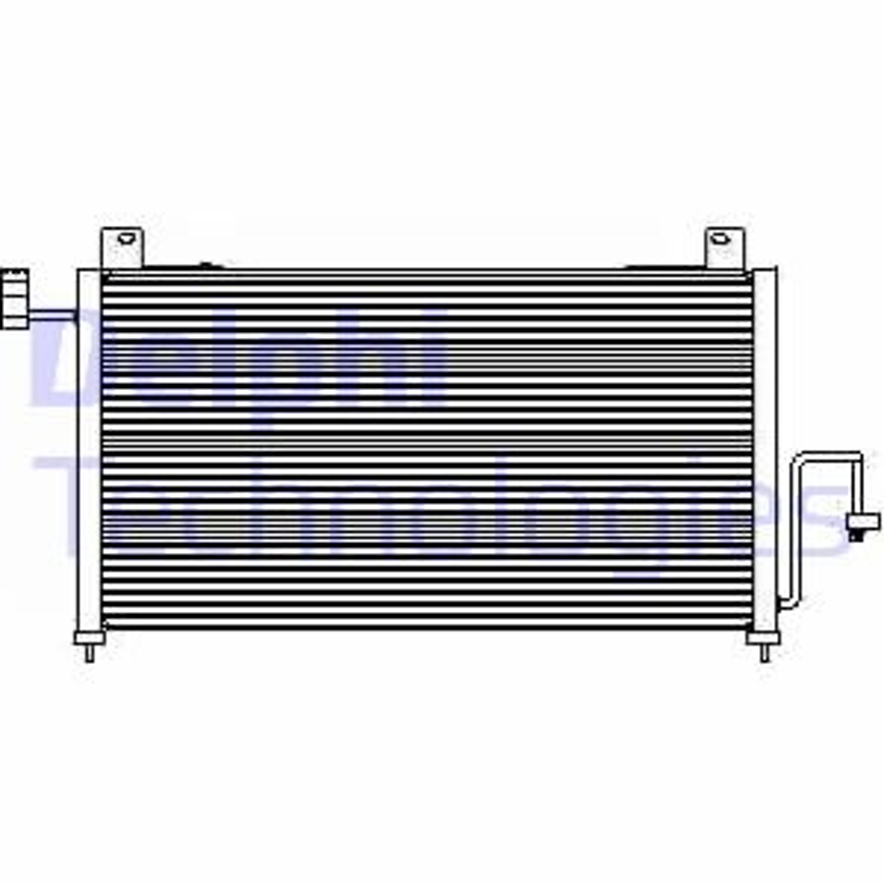 Kondensator, Klimaanlage DELPHI TSP0225428 Bild 1