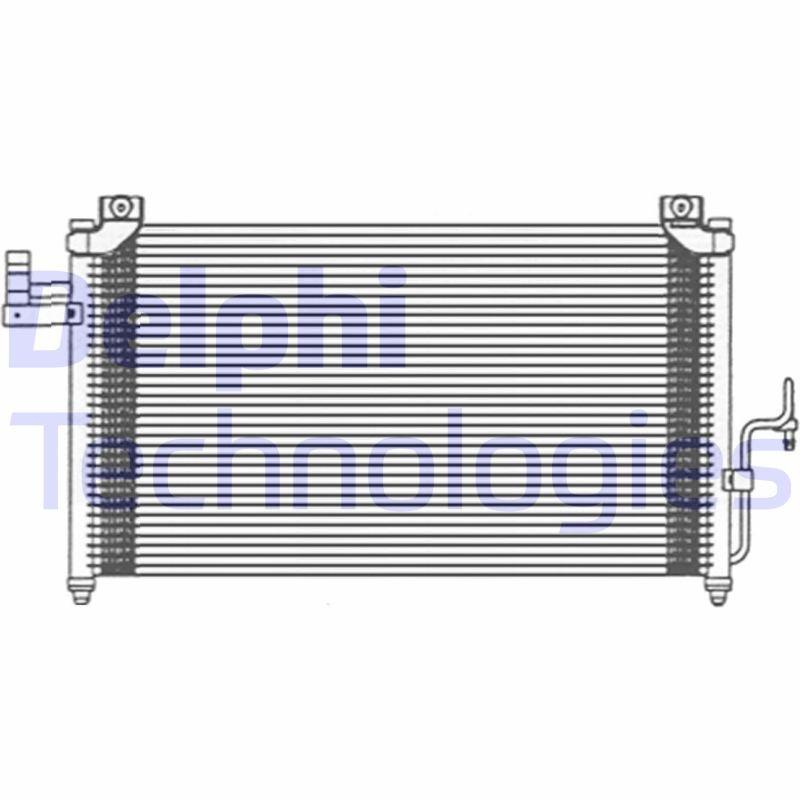 Kondensator, Klimaanlage DELPHI TSP0225474 Bild 1
