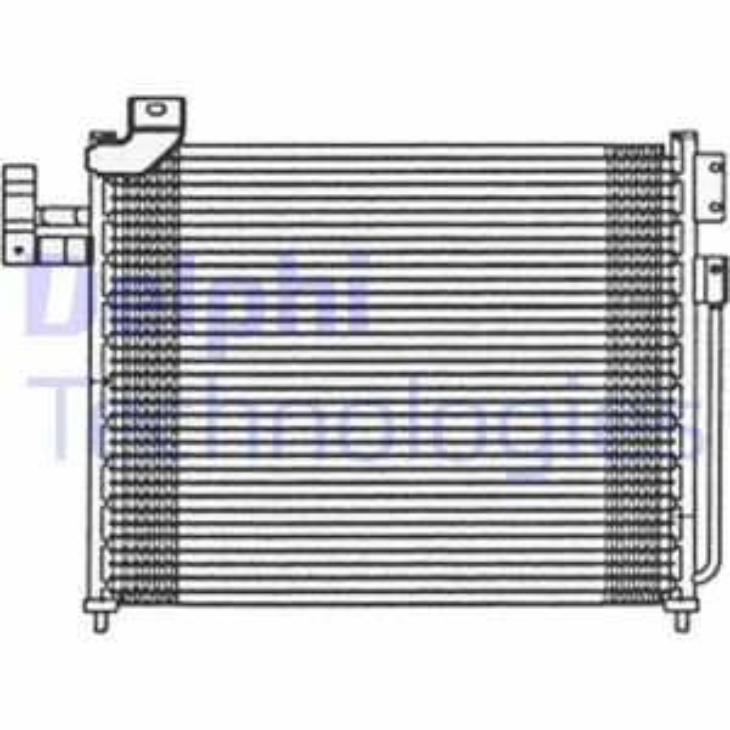 Kondensator, Klimaanlage DELPHI TSP0225475