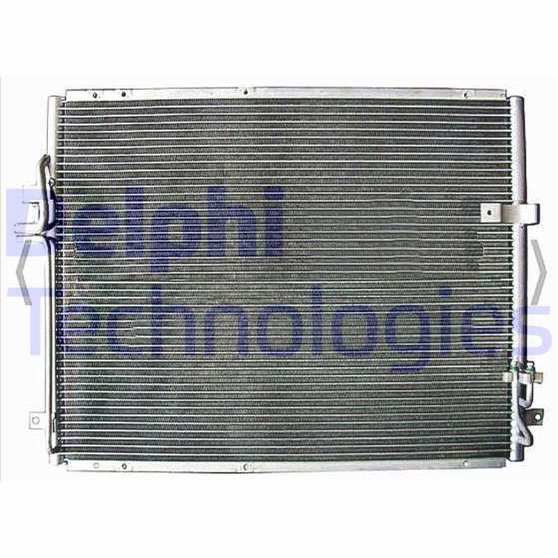 Kondensator, Klimaanlage DELPHI TSP0225603