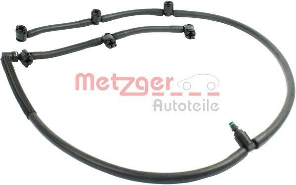 Original METZGER 0840031 Schlauch Leckkraftstoff für PEUGEOT
