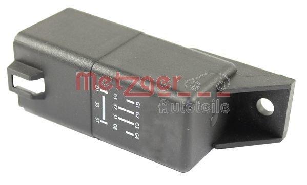 Relais, Glühanlage 12 V METZGER 0884014