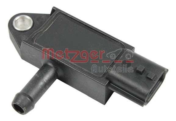 Sensor, Abgasdruck METZGER 0906198