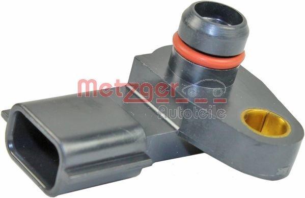 Sensor, Saugrohrdruck METZGER 0906236