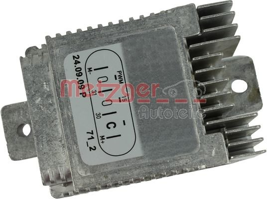 Steuergerät, Elektrolüfter (Motorkühlung) METZGER 0917036