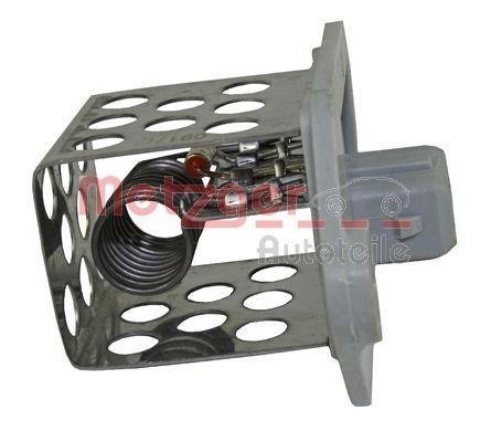Steuergerät, Elektrolüfter (Motorkühlung) METZGER 0917051
