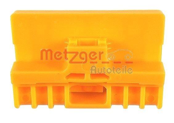 Gleitbacke, Fensterheber vorne links vorne rechts METZGER 2160151