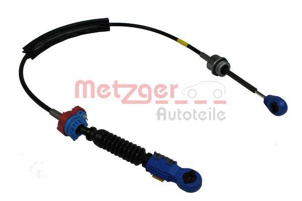 Seilzug, Schaltgetriebe rechts METZGER 3150046