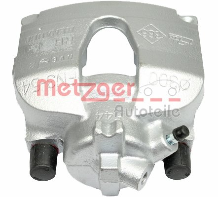 Bremssattel Vorderachse rechts METZGER 6250436