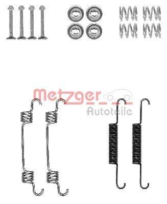 Zubehörsatz, Feststellbremsbacken METZGER 105-0887