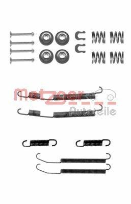 Zubehörsatz, Bremsbacken METZGER 105-0760
