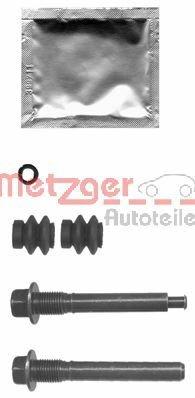 Führungshülsensatz, Bremssattel METZGER 113-1402X