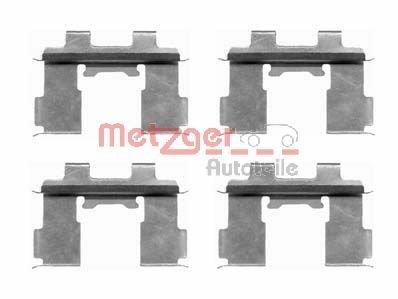 Zubehörsatz, Scheibenbremsbelag METZGER 109-1630