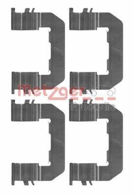 Zubehörsatz, Scheibenbremsbelag METZGER 109-1719