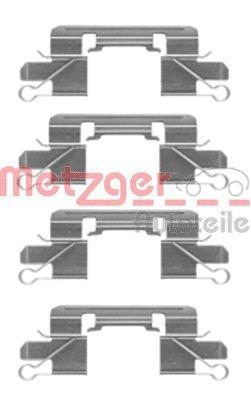 Zubehörsatz, Scheibenbremsbelag METZGER 109-1769