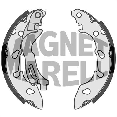 Bremsbacke MAGNETI MARELLI 360219198318
