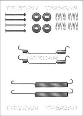 Zubehörsatz, Bremsbacken TRISCAN 8105 102592