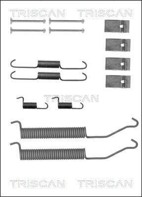 Zubehörsatz, Bremsbacken TRISCAN 8105 102609