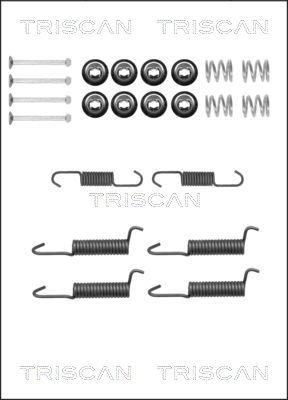 Zubehörsatz, Feststellbremsbacken TRISCAN 8105 422587