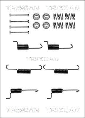 Zubehörsatz, Feststellbremsbacken TRISCAN 8105 432004