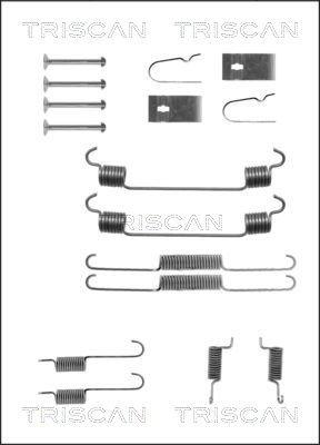 Zubehörsatz, Bremsbacken TRISCAN 8105 502543