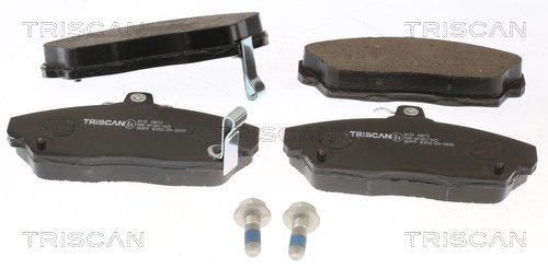 Bremsbelagsatz, Scheibenbremse TRISCAN 8110 10013