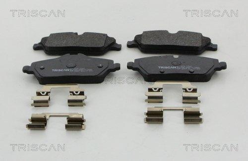 Bremsbelagsatz, Scheibenbremse TRISCAN 8110 11061