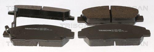 Bremsbelagsatz, Scheibenbremse TRISCAN 8110 17008