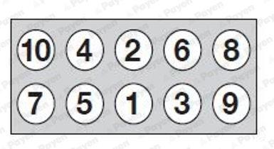 Zylinderkopfschraubensatz PAYEN HBS544 Bild 2