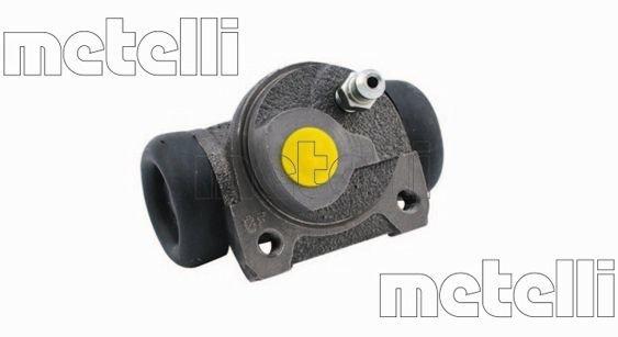 Radbremszylinder Hinterachse links METELLI 04-0624