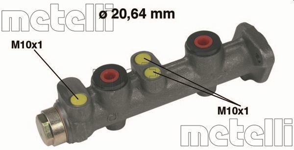 Hauptbremszylinder METELLI 05-0066