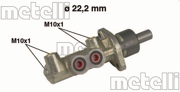 Hauptbremszylinder METELLI 05-0220